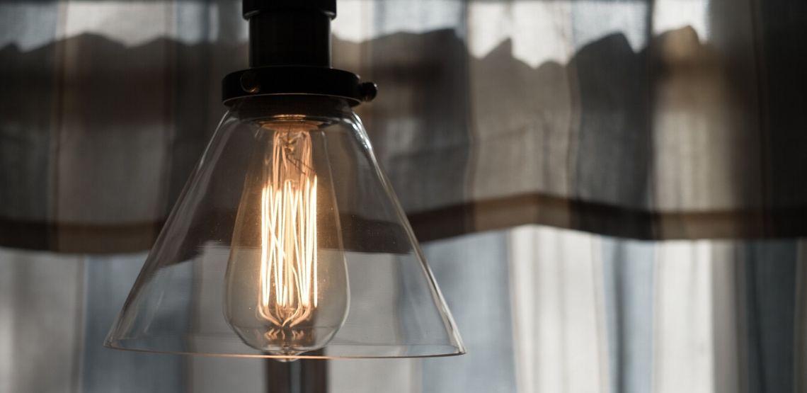 A light fixture.